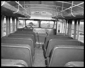 Primary view of object titled 'Cross-Allen Co. Bus to Mexico'.