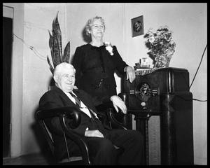 Primary view of object titled 'Mr. & Mrs. J. M. Dotson'.