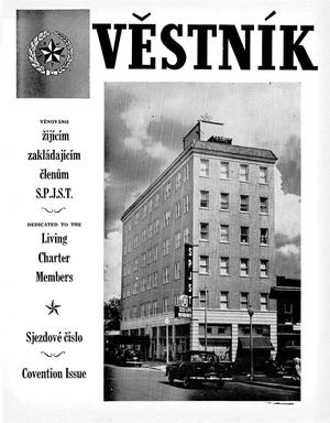 Primary view of object titled 'Věstník (West, Tex.), Vol. 44, No. 25, Ed. 1 Wednesday, June 20, 1956'.