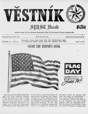 Primary view of object titled 'Věstník (West, Tex.), Vol. 59, No. 23, Ed. 1 Wednesday, June 9, 1971'.