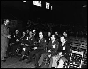 Primary view of object titled '[36th Infantry Division convention at Brownwood]'.