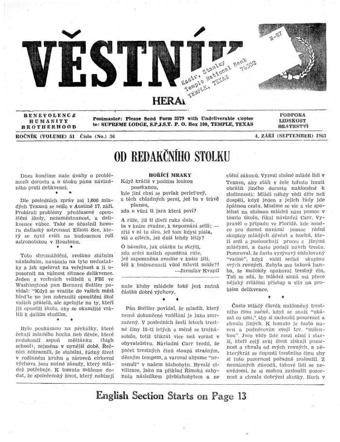 Rare September 4, 1963 SIEMPRE Presencia De Mexico Magazine ...
