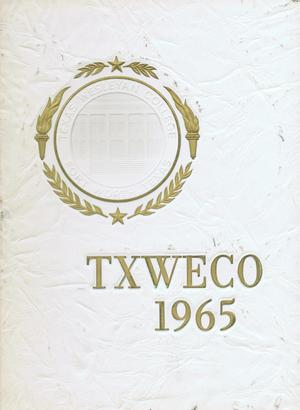 Primary view of object titled 'TXWECO, Yearbook of Texas Wesleyan College, 1965'.