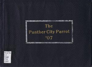Primary view of object titled 'The Panther City Parrot, Yearbook of Polytechnic College,  1907'.