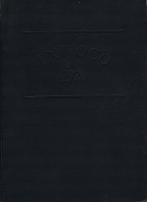 Primary view of object titled 'TXWOCO, Yearbook of Texas Woman's College, 1920'.
