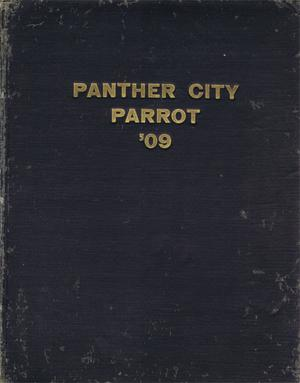 Primary view of object titled 'The Panther City Parrot, Yearbook of Polytechnic College,  1909'.