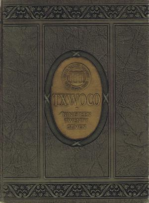 Primary view of object titled 'TXWOCO, Yearbook of Texas Woman's College, 1927'.