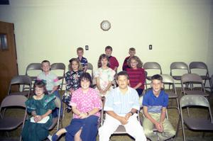 Primary view of object titled '[Young Members of First United Methodist Church]'.