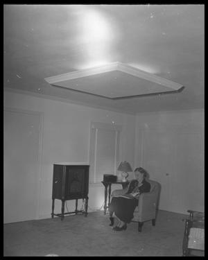 Primary view of object titled 'Woman Listening to Radio'.