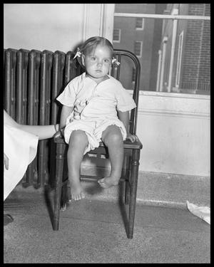 Primary view of object titled 'Young Polio Victim'.