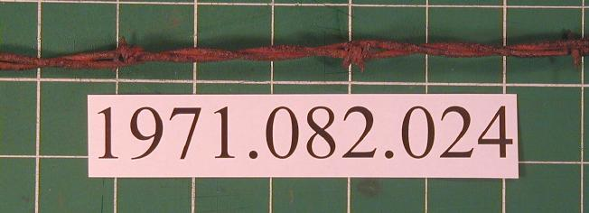 Dodge and Washburn barbed wire, Patented January 4, 1882                                                                                                      [Sequence #]: 1 of 1