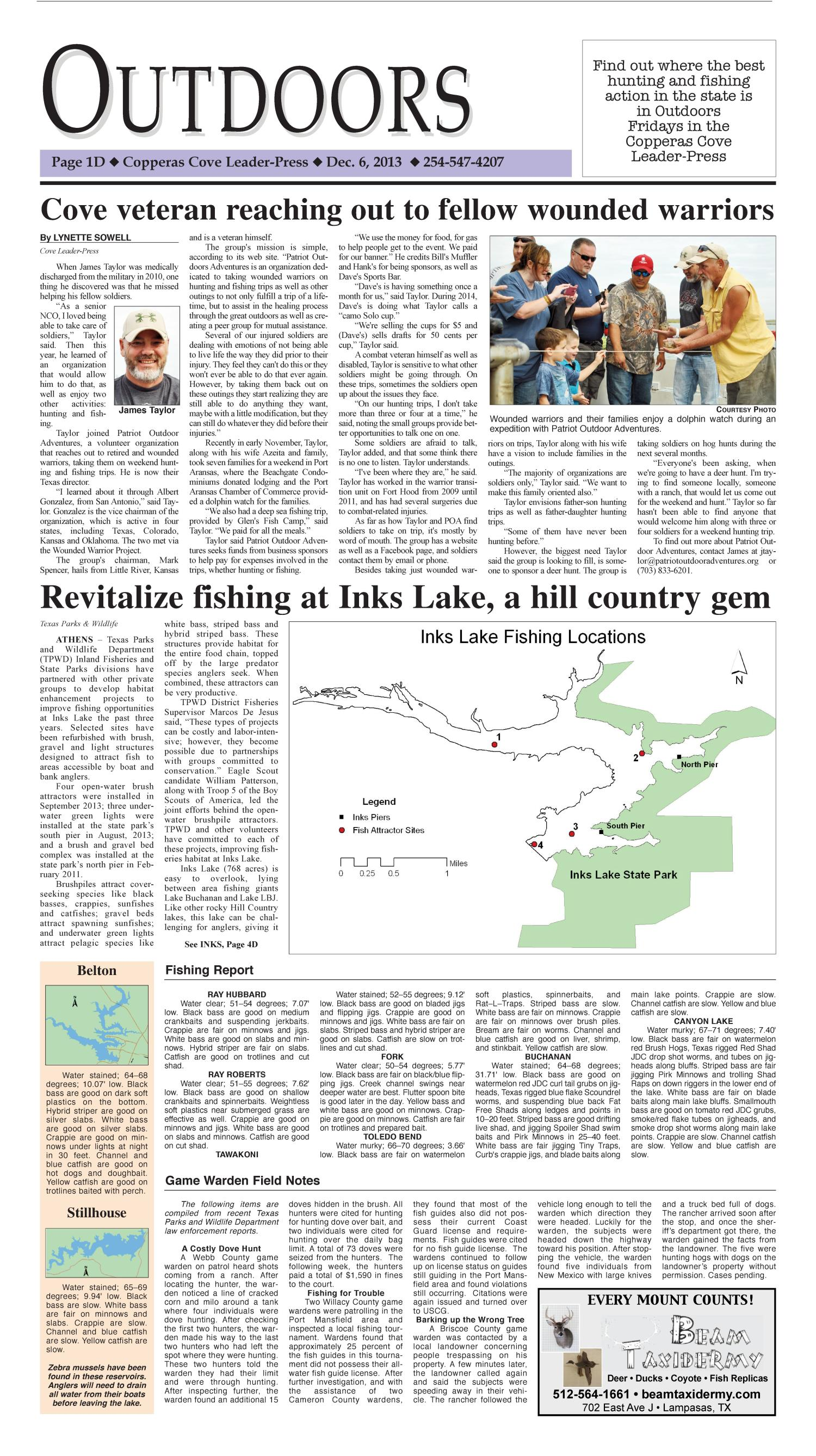 Copperas Cove Leader-Press (Copperas Cove, Tex.), Vol. 119, No. 19, Ed. 1 Friday, December 6, 2013                                                                                                      [Sequence #]: 21 of 24