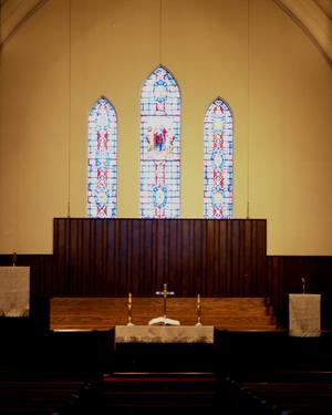 [Sanctuary at First United Methodist Church]