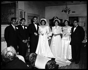 Primary view of object titled 'Calderon-Mendoza Wedding'.