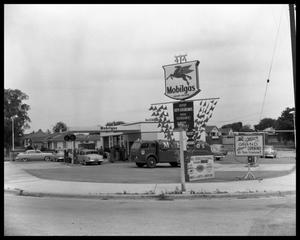 Primary view of object titled 'Magnolia Mobilgas Service Station'.
