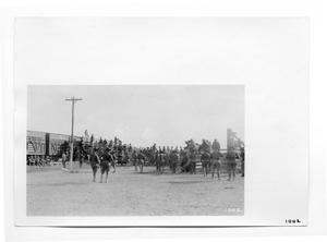 Primary view of object titled '[U.S Soldiers in Columbus, New Mexico]'.