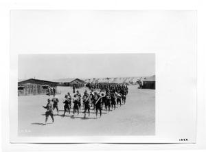 Primary view of object titled '[Riderless Horse Ceremony]'.