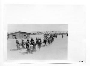 Primary view of object titled '[Soldiers Carrying Caskets]'.