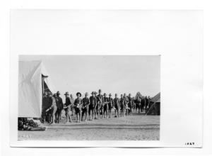 Primary view of object titled '[Army Chow Time]'.