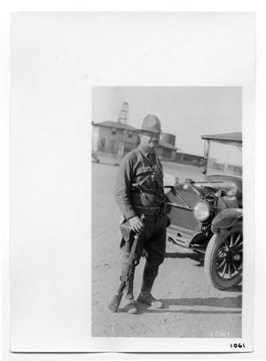 Primary view of object titled '[Unidentified U.S. Soldier]'.