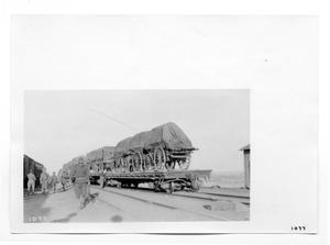 Primary view of object titled '[U.S. Army Supply Train]'.