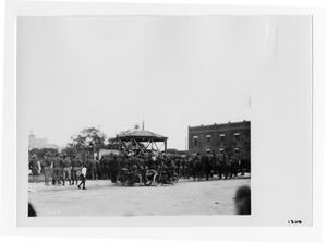 Primary view of object titled '[Soldiers Enjoying Music]'.
