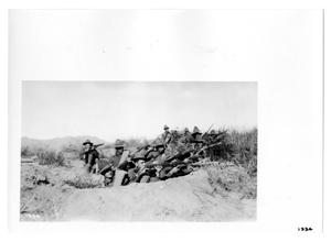 Primary view of object titled '[Ambush in the Desert]'.
