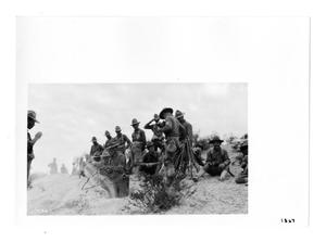 Primary view of object titled '[Soldiers Digging Trenches]'.