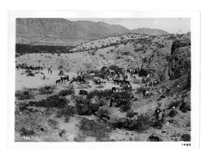 Primary view of object titled 'Madero Camp Near El Paso'.