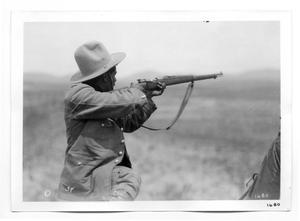 Primary view of object titled '[Mexican Constitutional Soldier]'.