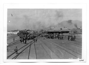 Primary view of object titled '[Ciudad Juarez Train Depot]'.