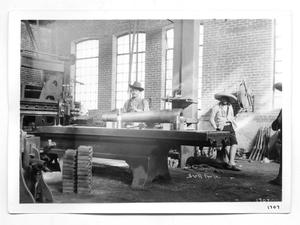 Primary view of object titled '[Machine Shop]'.