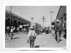 Primary view of object titled '[Villistas Entering Ciudad Juarez]'.