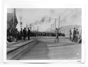 Primary view of object titled '[Santa Fe Bridge in El Paso, Texas]'.