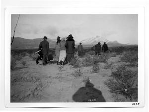 Primary view of object titled '[Columbus, New Mexico Refugees]'.