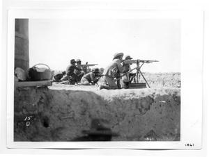 Primary view of object titled '[Hotchkiss M1914 Machine Gun]'.