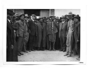 Primary view of object titled '[Mexican Revolutionary Officers]'.