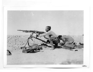 Primary view of object titled '[Gringo Machine Gunner]'.