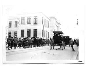 Primary view of object titled '[Revolutionaries in Chihuahua City]'.