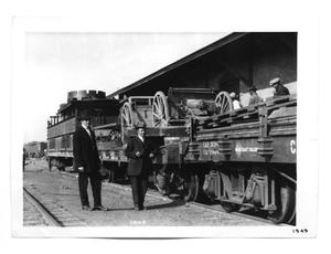 Primary view of object titled '[Train Cars]'.