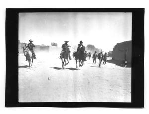 Primary view of object titled '[Rebels on the Move]'.