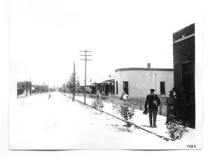Primary view of object titled '[Rebels in a Juarez Neighborhood]'.