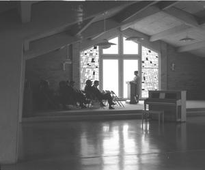Primary view of object titled '[Class at First United Methodist Church]'.