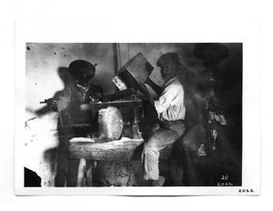 Primary view of object titled '[Men in Industry]'.