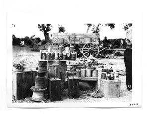 Primary view of object titled '[Supplies for Explosives]'.