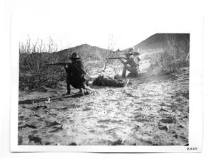 Primary view of object titled '[Rebels Firing]'.