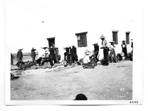 Primary view of object titled '[Rebel Soldiers Relaxing]'.