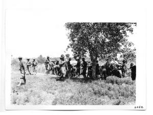 Primary view of object titled '[Break Time for Army Soldiers]'.