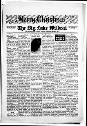 Primary view of object titled 'The Big Lake Wildcat (Big Lake, Tex.), Vol. 26, No. 50, Ed. 1 Friday, December 21, 1951'.