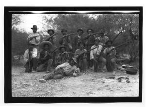 Primary view of object titled '[Revolutionaries Posing for a Photo]'.